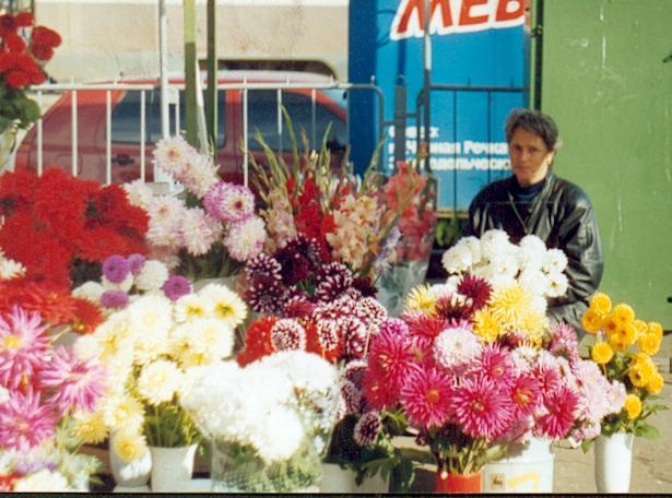 Послать цветы в питере